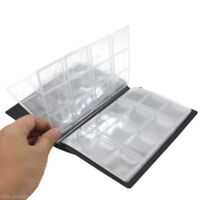 120Pockets Coins Album Collection Book Commemorative Holders Display Folders