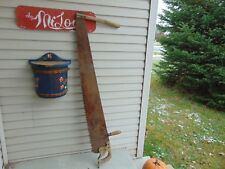 "antique saw     54 ""   very nice chalet decor     #  5154"