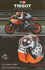 2008 Nicky Hayden Tissot Repsol Honda Moto GP thinstock postcard