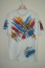 RETRO MULTICOLOURED CAMPAGNOLO PAINT EFFECT CYCLING JERSEY MENS 7