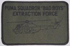 Aufnäher Patch Namemsschild PUMA SQUADRON BAD BOYS Extraction Force .......A3408