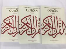 A Word For Word Meaning Of The Quran 3 Vol Set By Muhammad Mohar Ali Jimas Pub