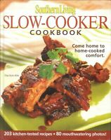 Southern Living Slow Cooker Cookbook 2006 Wyatt Soups Stews Sides Sweets Holiday