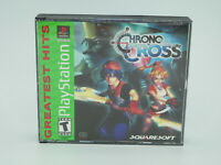 Chrono Cross PlayStation 1 PS1 Game Complete Tested Free Shipping
