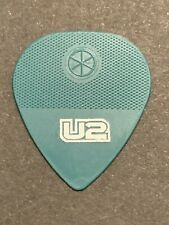 U2 Authentic Tour Guitar Pick Green Bono in Near Mint Condition
