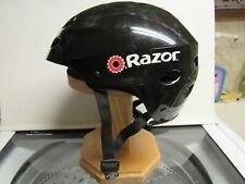"""Black """"Razor"""" Brand Safety Helmet"""
