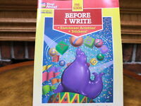 Step Ahead: Before I Write by Lauel L. Arndt (1995, Golden Books Workbook)