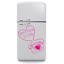 wall stickers adesivo regalo san valentino cuore amore love foto nomi data cuori
