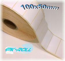 Blank White Self Adhesive Sticky Address Printer Printer Labels 100x50mm