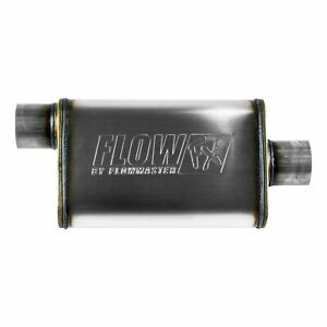 Flowmaster FX Stainless Steel Muffler 3In. Offset Inlet / 3In. Centered Outlet