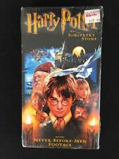 Harry Potter And The Sorcerer's Stone VHS Tape Year One 2002 Warner Brothers