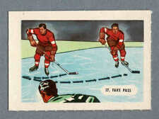 1945-47 Kellogg's (Canada), 'Sports-Tips', 2nd Set, #17 Hockey, 'Fake Pass'