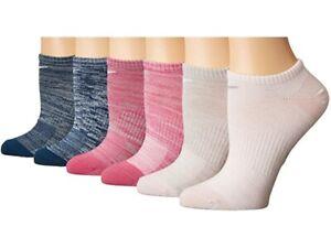 Nike 254090 Women Everyday Lightweight No Show Socks 6-Pair Size Small