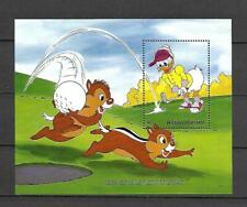 Disney Antigua & Barbuda 1991 Golf - Chip and Dale - Daisy MS MNH