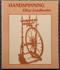 Handspinning by Eliza Leadbeater 1976 1st edition paperback