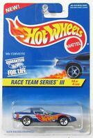 Hot Wheels ~ 1997 Race Team Series III Collector #536 ~ '80s Corvette