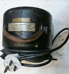 Vintage G.B. Equipments Bell & Howell projector transformer 240/110 Volt