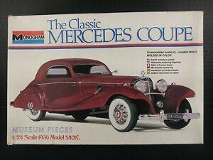 Monogram 1:24 Scale Model Kit Classic Mercedes Coupe