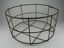 Rustic Primitive Wire Basket Decorative Farm House