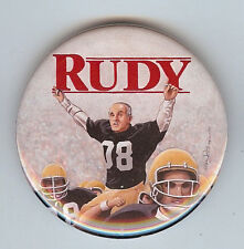 "RUDY GIULIANI FOOTBALL DESIGN LIMITED ED. 2 1/4"" BUTTON BY ARTIST BRIAN CAMPBELL"