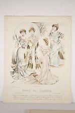 Mode de Paris 1902, journal des demoiselles , robes du Soir