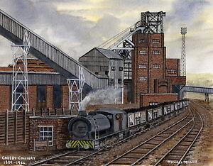 Cadeby Colliery - 1889 - 1986 - Ltd Ed Print - Pit Pics - Coal Mining