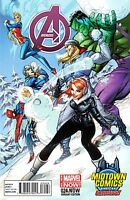 AVENGERS VOL 5 24 24.NOW RARE MIDTOWN EXCLUSIVE J SCOTT CAMPBELL VARIANT NM