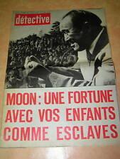 Détective 1976 Patricia HEARST  SPOTORNO MOYEUVRE NÎMES