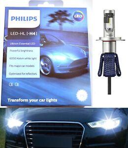 Philips Ultinon LED G2 White H4 Two Bulbs Headlight Dual Beam Replace Upgrade OE