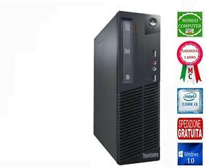 COMPUTER SFF LENOVO  CPU INTEL CORE i 3 _ 2100_ 3,10 GHZ  WINDOWS 10