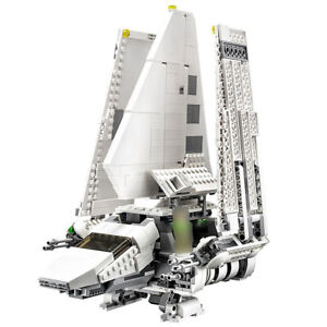 Space Wars Empire Shuttle Spaceship Building Blocks Imperial Shuttle DIY Bricks
