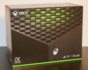 XBOX SERIES X ~ MICROSOFT 1TB VIDEO GAME CONSOLE ~ NEW SEALED