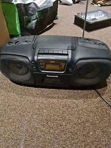 RETRO PANASONIC  RX -DS15 RADIO / CASSETTE / CD PLAYER  BOOMBOX GHETTO BLASTER