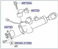 Genuine Nissan R50 Pathfinder Steering Lock with Keys RRP$600 now $100