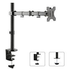 """Tischhalterung Monitorarm 360° Monitor Halter Kabelführung 13-32"""" Zoll 8kg MC753"""