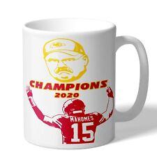 Andy Reid Patrick Mahomes Kansas City Chiefs 2020 Champions Coffee Mug