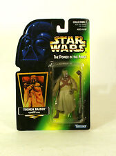 Star Wars Green Card Holo POTF2 Tusken Raider MOC