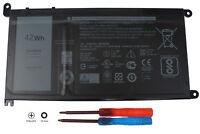 WDXOR Laptop Battery for Dell Inspiron 13 5000 5368 5378 7368 15 7000 17 5770