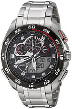 Citizen JW0111-55E Promaster Black Dial Stainless Steel Chronograph Men's Watch