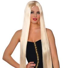 BLONDE EXTRA LONG LAVISH WIG ~ Birthday Halloween Party Supplies Costume Cosplay