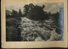 Doghart Rapids Killin Scotland Vintage 1949 Photograph L2