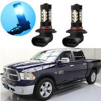 2Pcs blue LED Projector Fog Driving Light Bulbs For Ram 1500 2500 3500 2010-2012