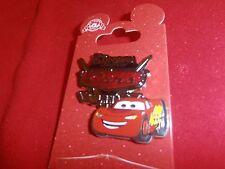 1 Disney  Pin - Cars - 3D  Lightning McQueen California Adventure As Seen. Lot S