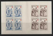 France Stamp 1957  Red Cross Booklet  Unmounted Mint MNH