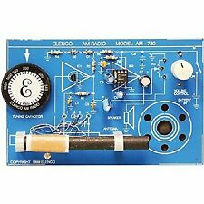 Elenco AM780K 2 IC Am Radio Kit Solder Version