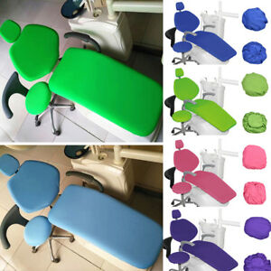 Dental Unit Chair Cover Pu Dentist Chair Stool Seat Cover Waterproof 1Set UK*wk