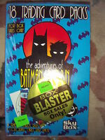 The Adventures of Batman and Robin Trading Cards 5 x Full Boxes by Skybox