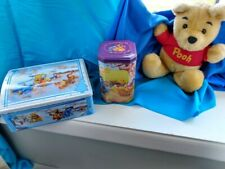 Winnie the Pooh Disney Collectibles (Stuffed Winnie - Two Collectors Tins