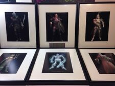 Dave White 1999 Lithograph Framed Collection Everquest II Rare MMO RPG Matted