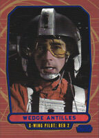 2012 Topps Star Wars Galactic Files Blue Parallel #118 Wedge Antielles 140/350